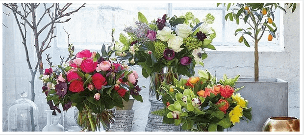 Floral decors for Interior Designs